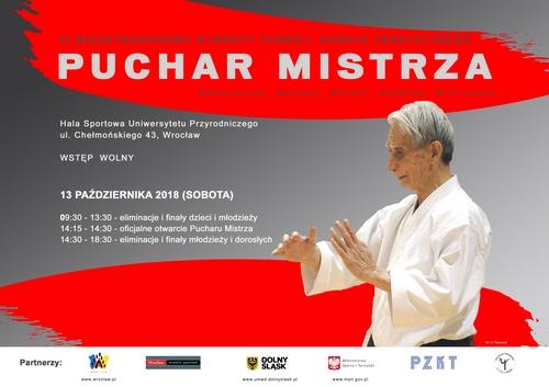 PUCHAR MISTRZA – 13 Października 2018, Wrocław