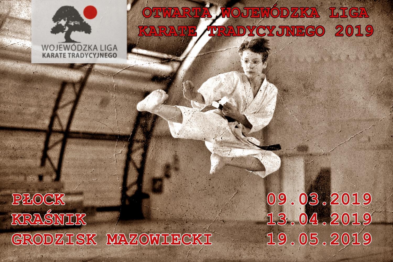 Otwarta Wojewódzka Liga Karate Tradycyjnego 2019