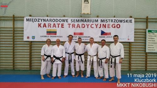 11-12 maja 2019 Kluczbork, Międzynarodowe Seminarium Mistrzowskie Karate Tradycyjnego – relacja