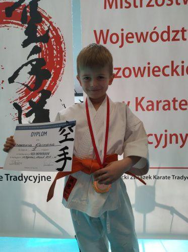 8 Medali Wywalczyli Karatecy MKKT Nikobushi Na Mistrzostwach Województwa Mazowieckiego w Karate Tradycyjnym!