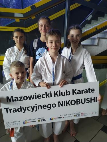 Puchar Polski Dzieci w Karate Tradycyjnym Jedzie do Grodziska Mazowieckiego !