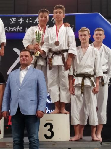 Karatecy MKKT Nikobushi na podium Mistrzostw Polski w Lublinie!