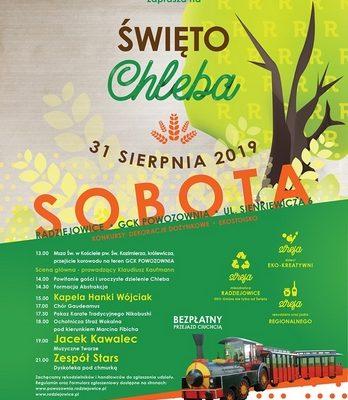 """Inauguracja Sezonu Szkoleniowego 2019/2020, """"Święto Chleba""""-31 sierpnia 2019 Radziejowice"""