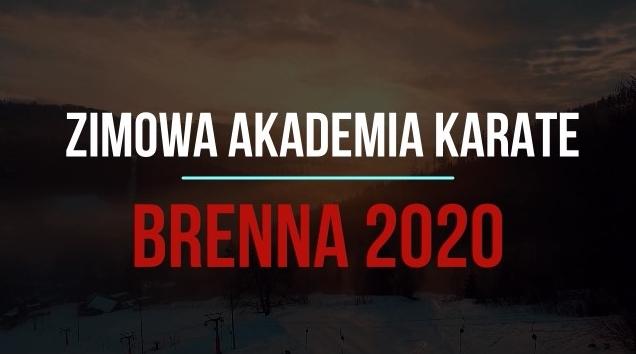 Zimowa Akademia Karate-Brenna 2020/ Informacje
