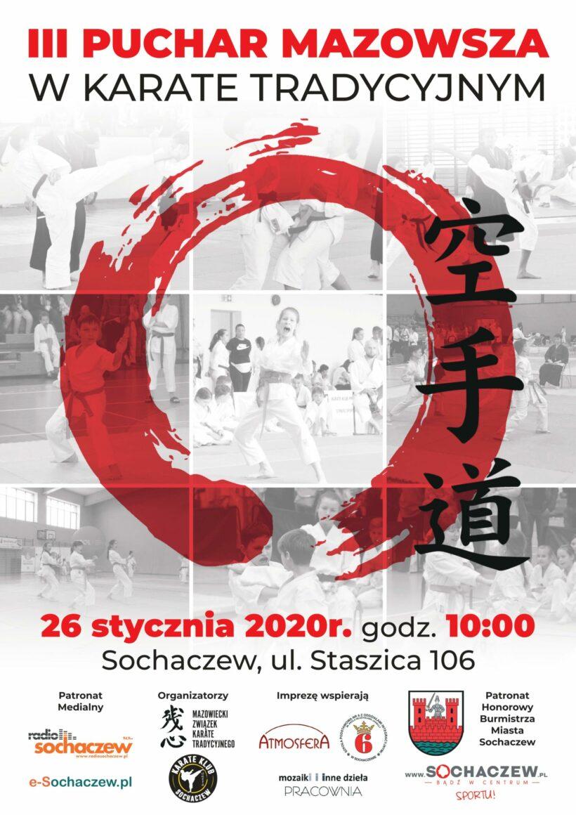 III Puchar Mazowsza w Karate Tradycyjnym 26.01.2020
