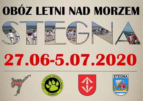 Obóz Letni nad Morzem-Stegna 2020