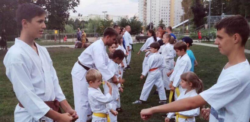 Karatecki sierpień nad Balatonem