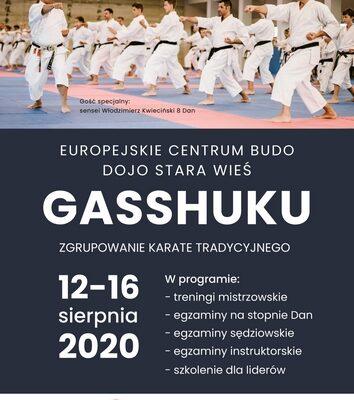 Letnie Gasshuku, 12-16 sierpnia 2020-Dojo Stara Wieś