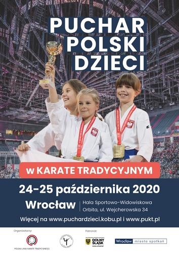 Puchar Polski Dzieci w Karate Tradycyjnym-Wrocław 2020