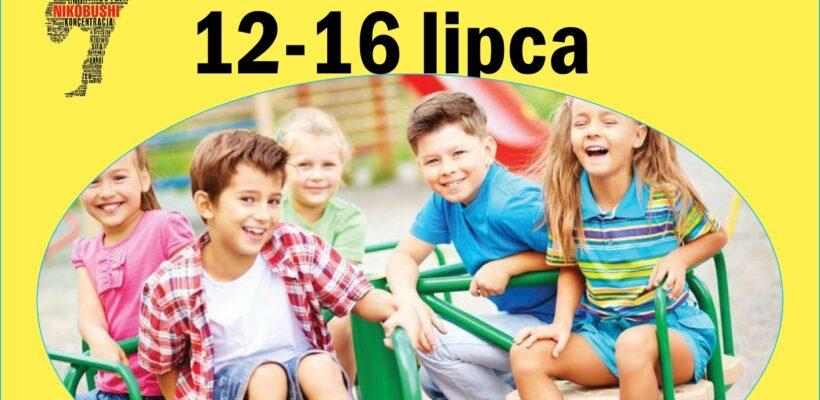 Półkolonie 2021-Centrum Kultury Grodzisk Mazowiecki 12-16 lipca